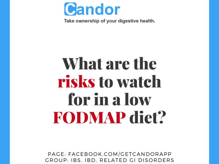 risks of low fodmap diet
