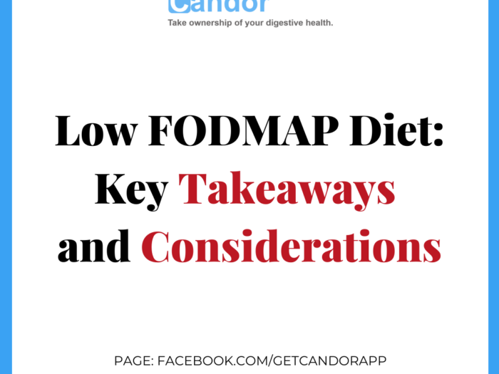 Low-FODMAP: Key Takeaways and Considerations