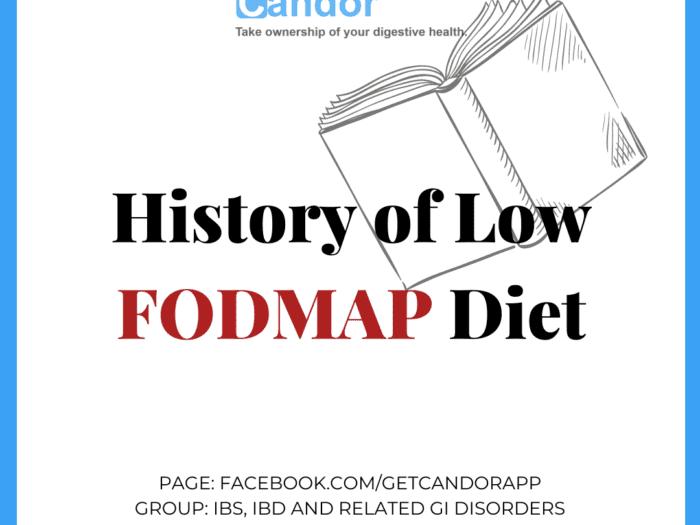 History of Low-FODMAP Diet